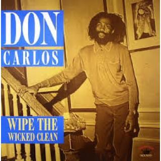 don carlos - wipe the wicked clean [VINYL]