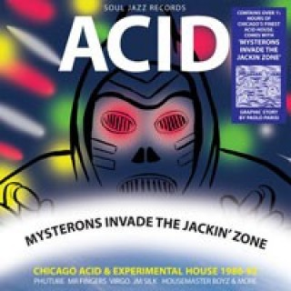 Acid - Mysterons Invade The Jackin' Zone [2X CD]