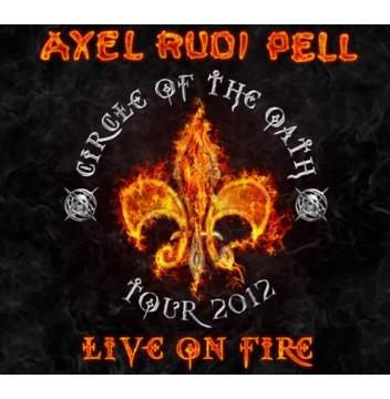 Axel Rudi Pell - Live On Fire [LTD. 3X LP] [COLOURED VINYL]