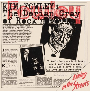 kim fowley living in the streets