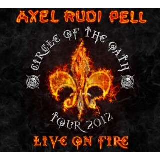 Axel Rudi Pell - Live On Fire [LTD. 3X LP] [COLOURED VINYL]