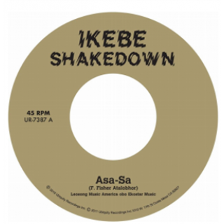 Ikebe Shakedown - Asa-Sa b/w Pepper