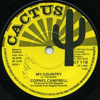 Cornell Campbell - My Country